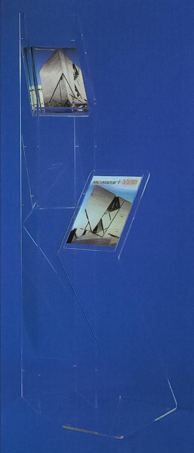 Prospektständer aus Acrylglas