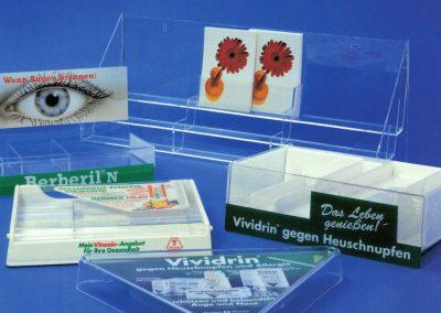 Verkaufsdisplays aus Acrylglas